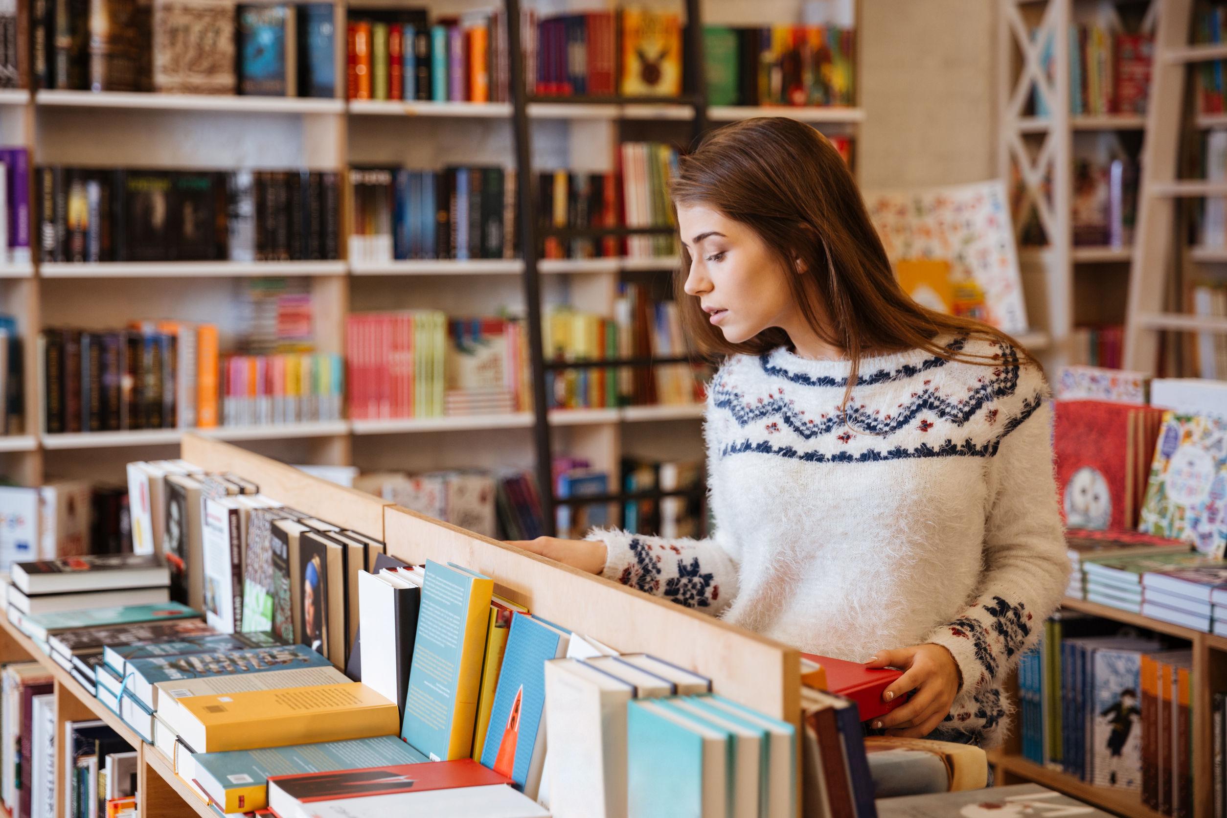 trabajar en librería