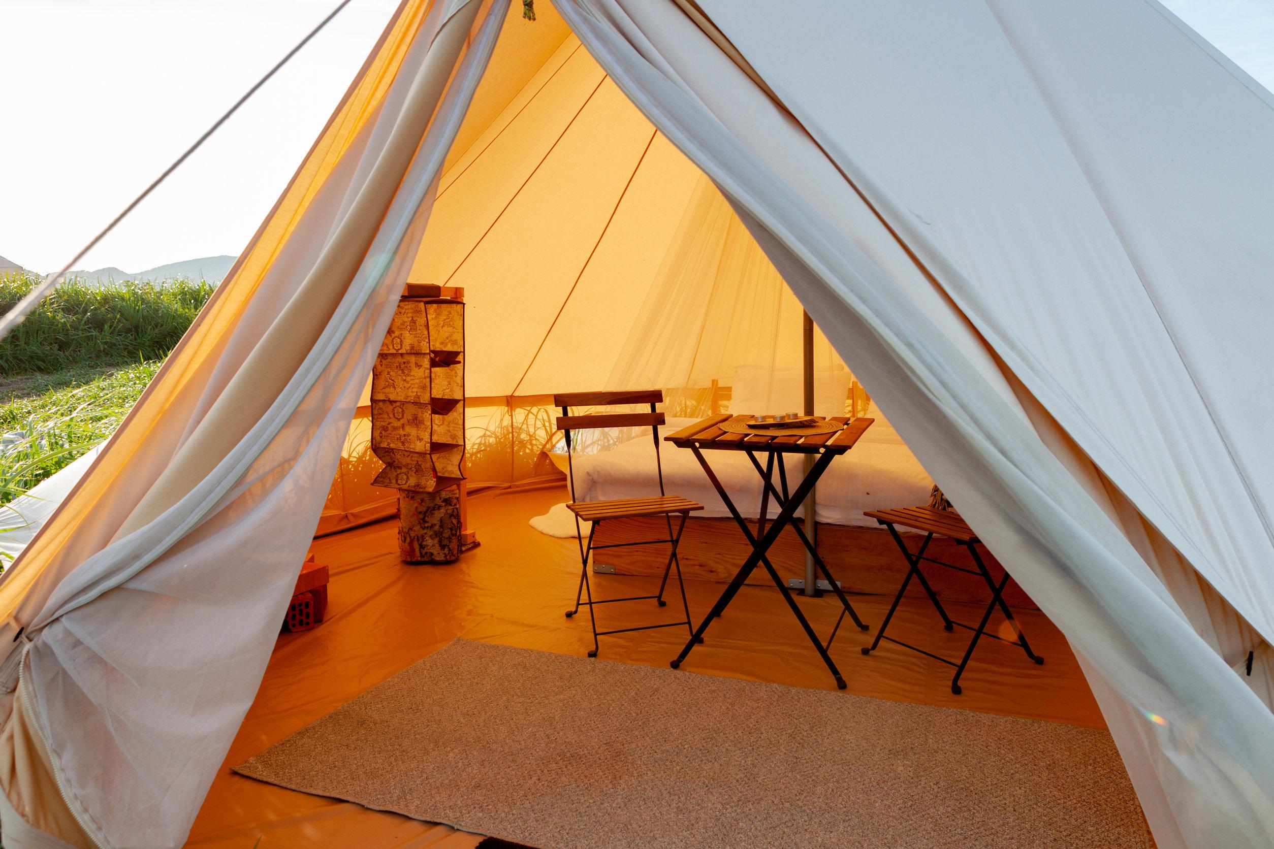 Camping de lujo en España
