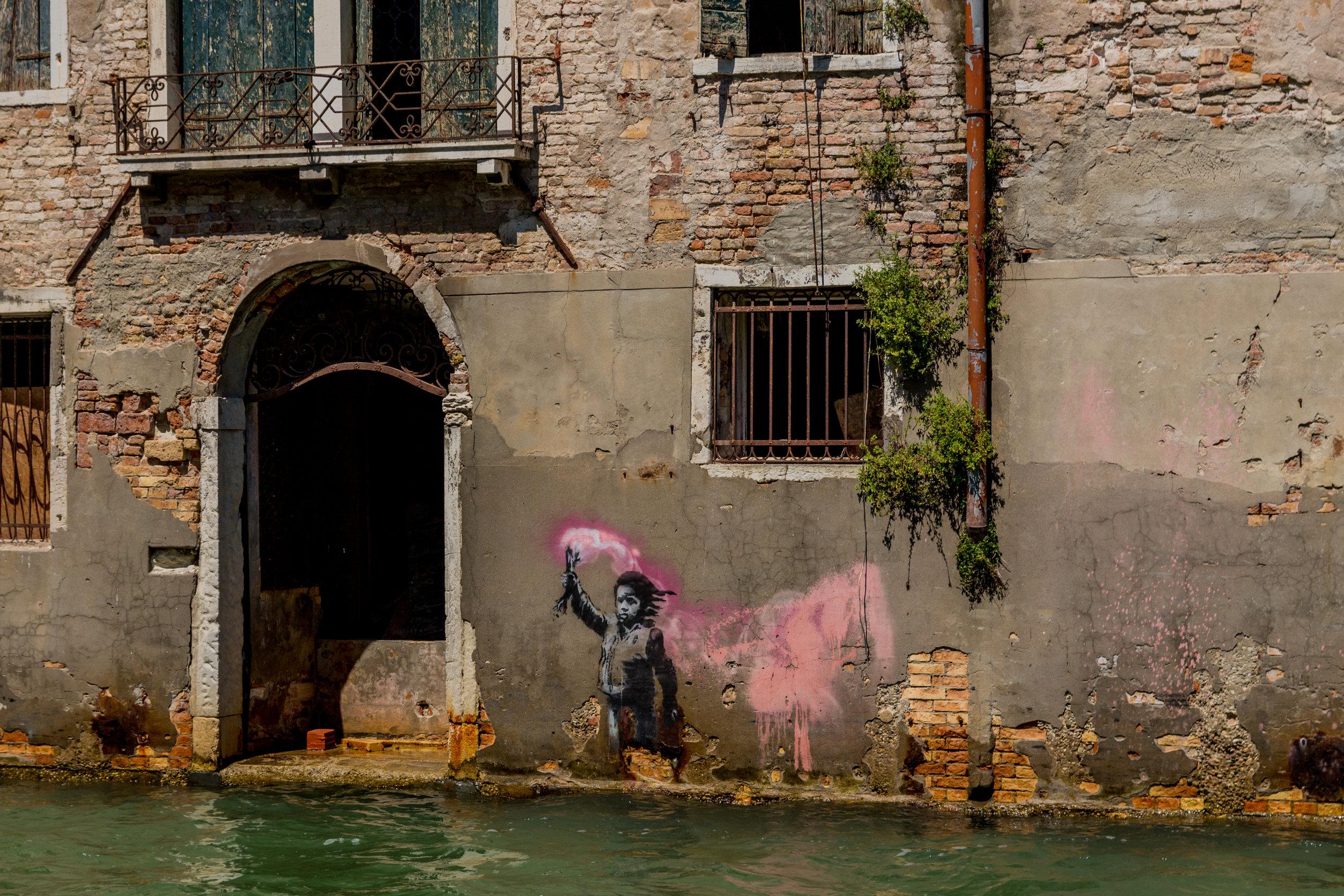 Pintores famosos actuales Banksy