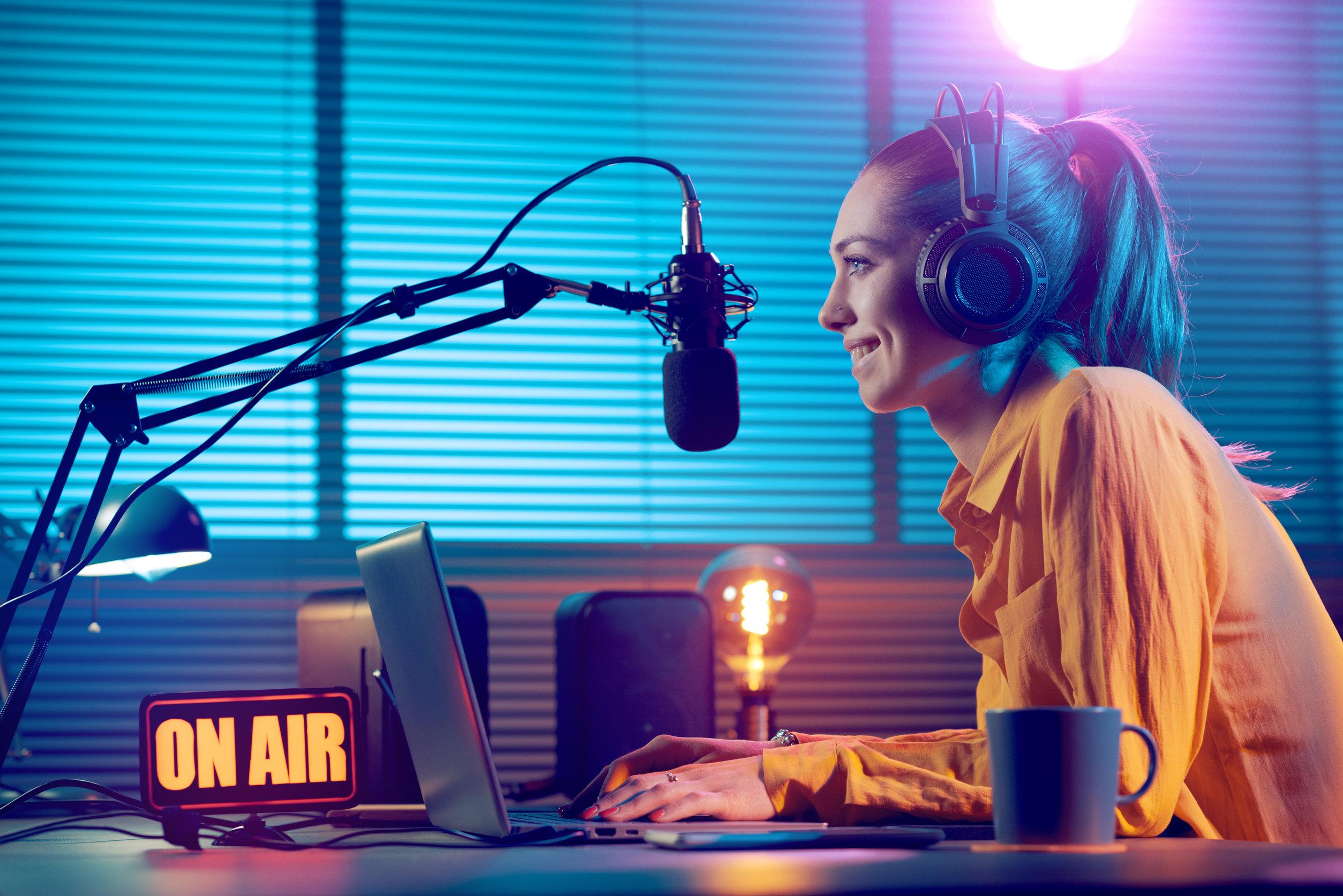 Trabajar en la radio España